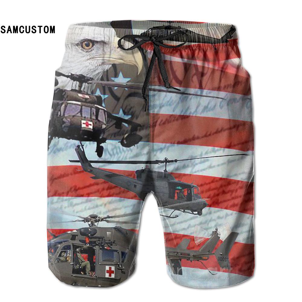 [해외]SAMCUSTOM mens 땀 흡수 속건 초경량 투습 헬리콥터 플래그 반바지 gmy 반바지 비치 반바지/SAMCUSTOM mens perspiration quick dry ultra-light breathable Helicopter Flag shorts gmy
