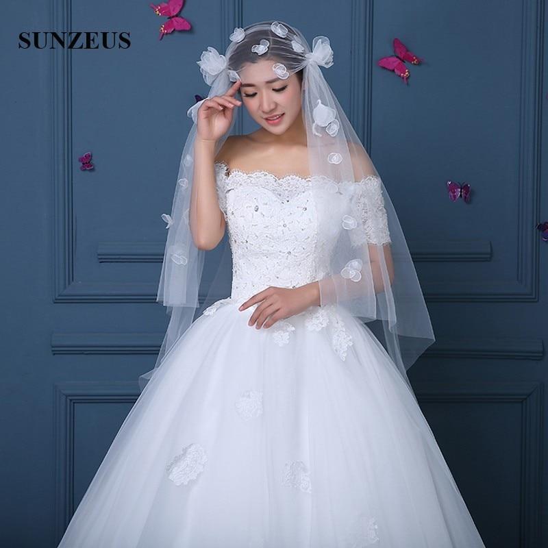 [해외]새로운 스타일 웨딩 베일 1.5m 짧은 아이보리 신부 VeilFlowers 모자를 쓰고 있죠 bluiloft velo de novia corto WV069/New Style Wedding Veils 1.5m Short Ivory Bridal VeilFlowers