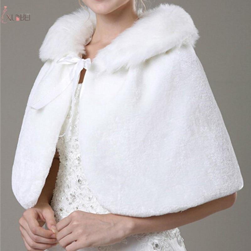 [해외]New White Faux Fur Women Wedding Bridal Bolero Shrug Wrap Shawl Jacket Cape Stole Coat Wedding Accessories/New White Faux Fur Women Wedding Bridal