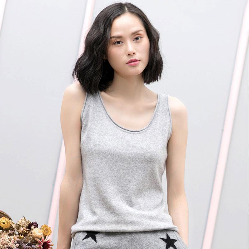 [해외]2017 최신 여름 패션 느슨한 Strapless 티셔츠 100 % 순수 캐시미어 섹시한 숙녀 기본 일반 T 셔츠 여성 캐주얼 탑스 여성/2017 Newest Summer Fashion Loose Strapless T-shirts 100% Pure Cashmer