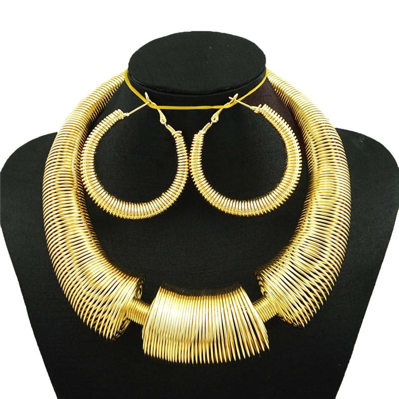 [해외]?여자 보석 세트 멋진 보석 세트 숙녀 큰 목걸이 금 큰 보석 세트 아프리카 큰 보석 세트/ women jewelry sets fine jewelry sets lady big necklace  gold big jewelry sets african big jewe
