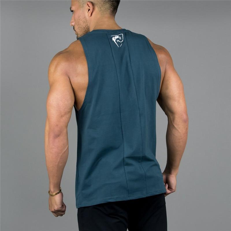 [해외]New ALPHALETE Gyms Clothing Bodybuilding Tank Tops Men Fitness Singlet Sleeveless Shirt Cotton Muscle Guys Brand Undershirt/New ALPHALETE Gyms Clo