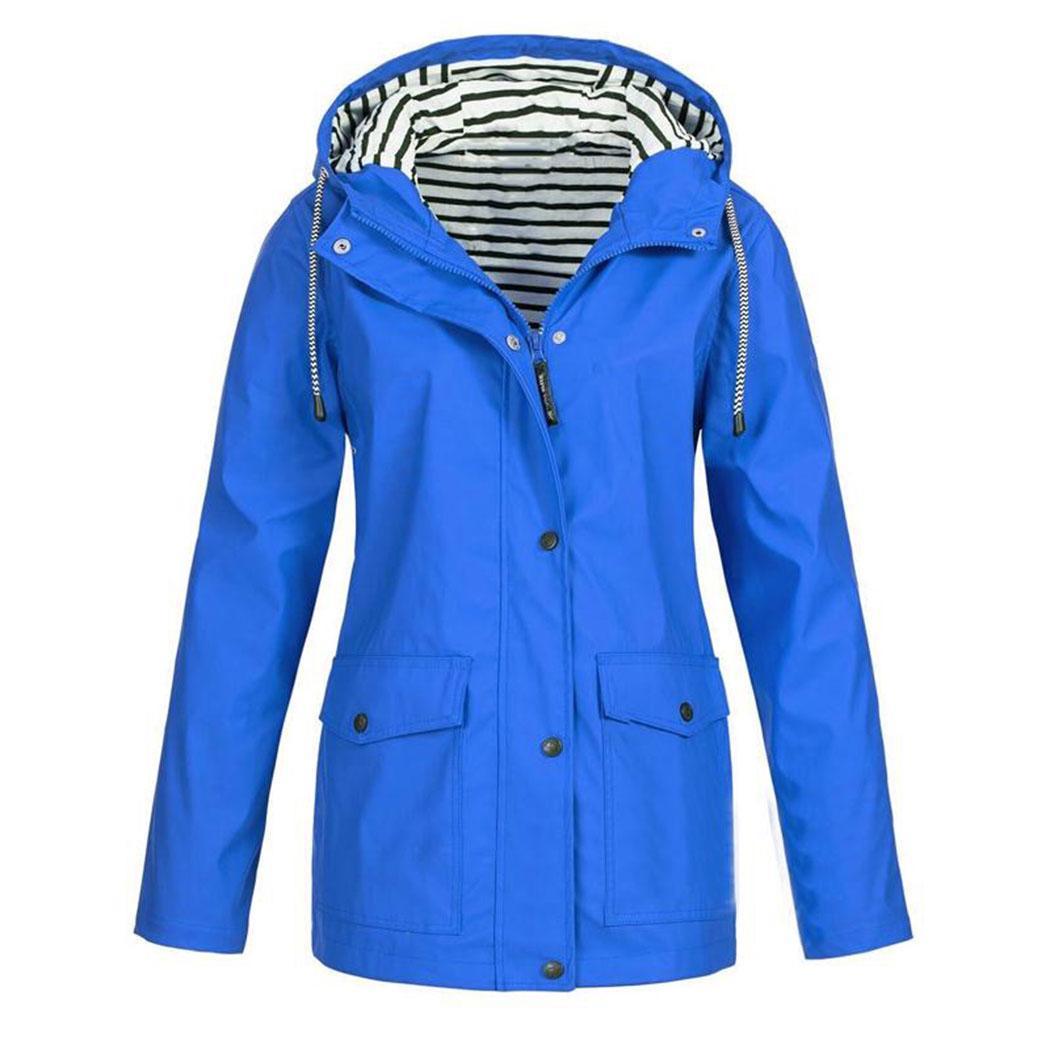[해외]New Fashion Women Casual Hooded Breathable Outdoor Ultralight Pocket, Button, Zipper Jacket Casual, Outwear/New Fashion Women Casual Hooded Breath