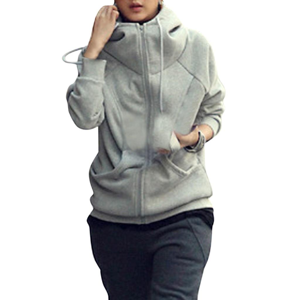 [해외]Chamsgend 자켓 여성 긴 소매 휘트니스 패션 숙녀 간단한 지퍼 후드 탑 운동 체육관 activewear 스포츠 코트 1011/Chamsgend 자켓 여성 긴 소매 휘트니스 패션 숙녀 간단한 지퍼 후드 탑 운동 체육관 activewear
