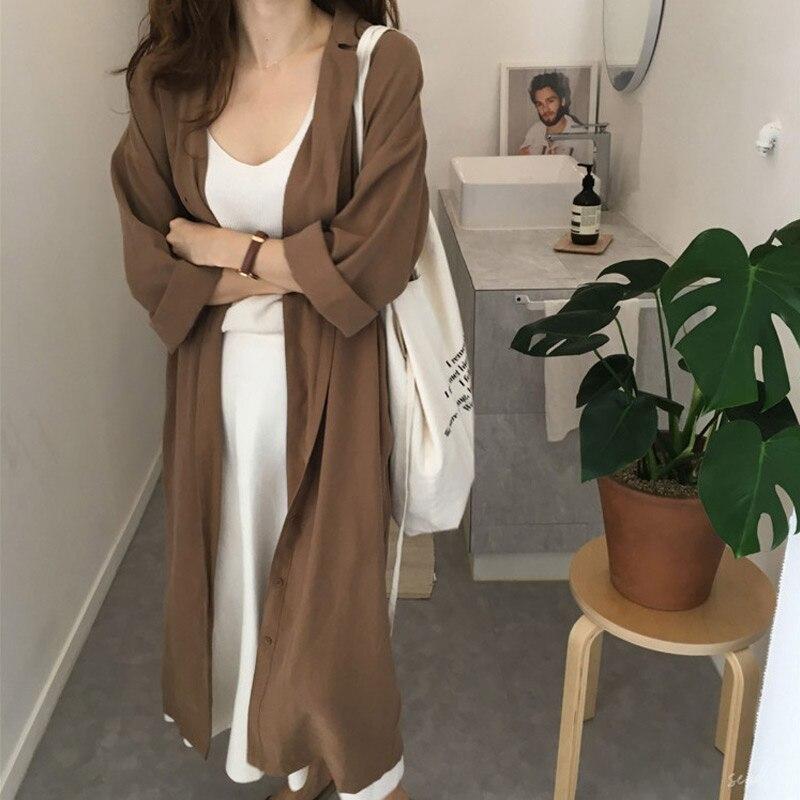 [해외]여성 캐주얼 블라우스 셔츠 드레스 코트 느슨한 옷깃 레이디 긴 소매 겉옷 JS26/여성 캐주얼 블라우스 셔츠 드레스 코트 느슨한 옷깃 레이디 긴 소매 겉옷 JS26