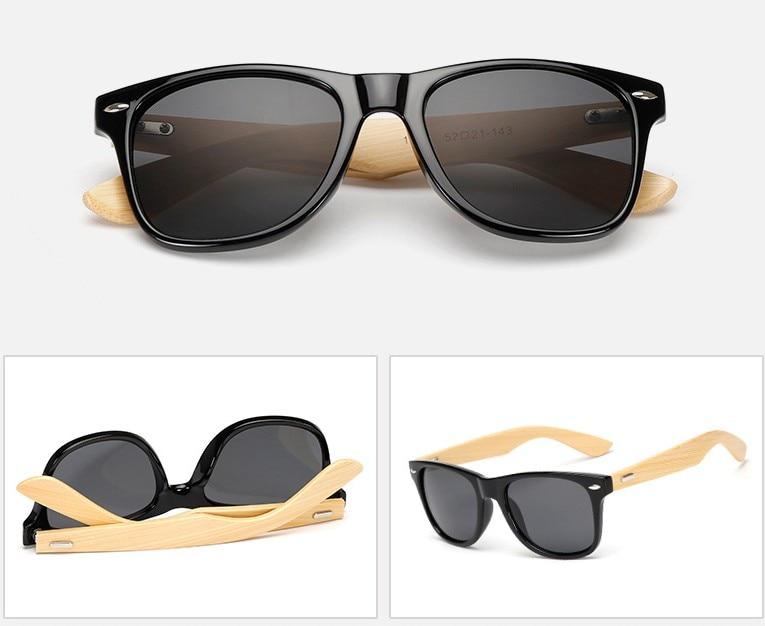 [해외]M14 Bamboo Sunglasses Men Wood sun glasses A De Sol Masculino Wooden Sunglasses Women Brand Designer Gafas De Sol glasses/M14 Bamboo Sunglasses Me