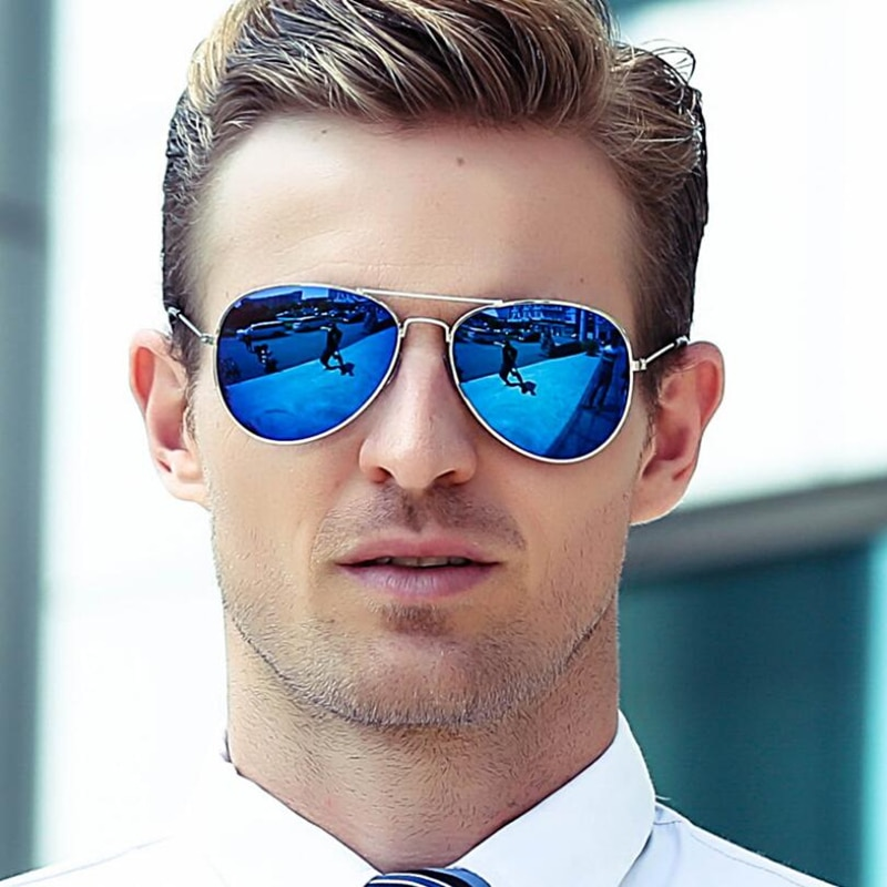 [해외]Classic Aviation Sunglasses Men Sunglasses Women Driving Mirror Male and Female Sun glasses Points Pilot Oculos de sol/Classic Aviation Sunglasses