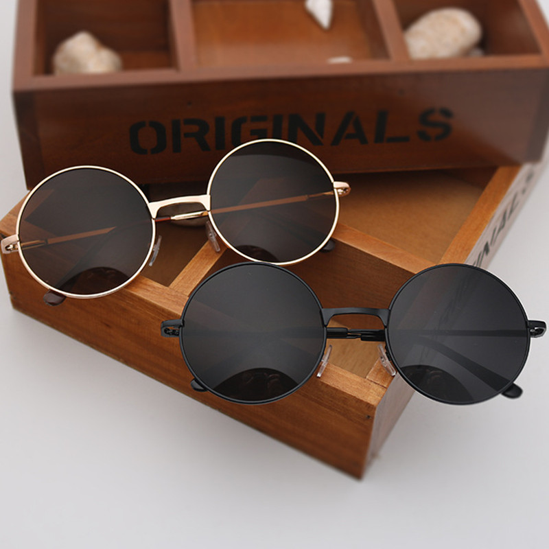 [해외]2019 Round lens spectacle Sunglasses for Women/men female sunrods occulos of male soil fashion Colorful design sun glasses/2019 Round le