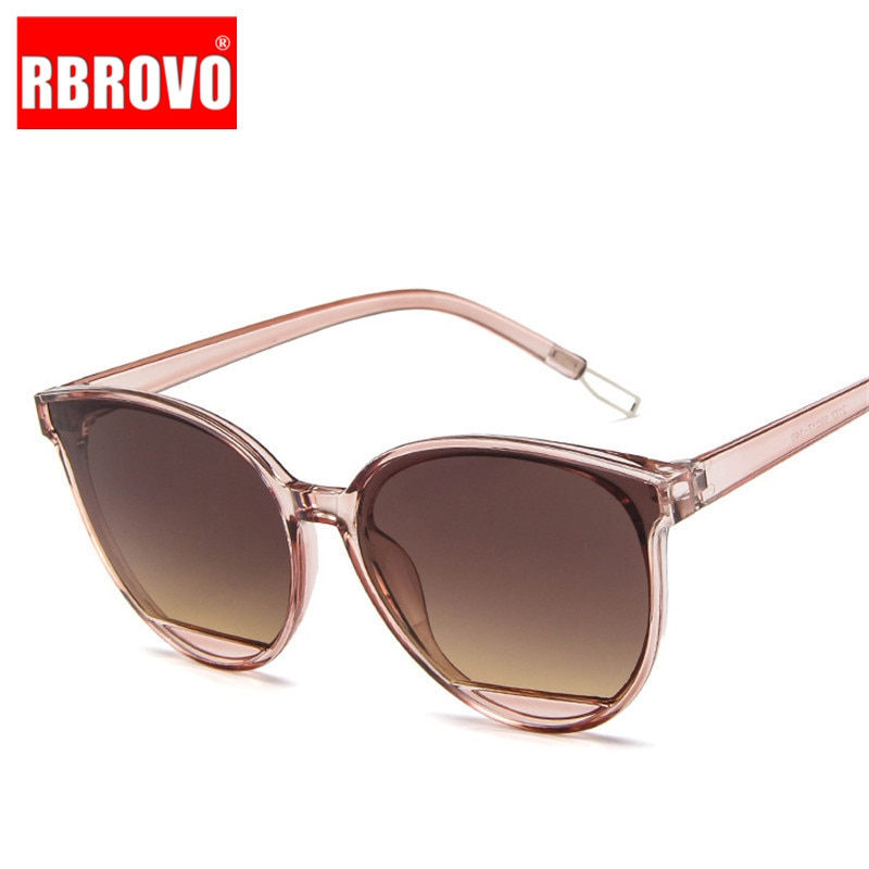 [해외]RBROVO New Arrival 2019 Fashion Sunglasses Women Vintage Metal Eyeglasses Mirror Classic Vintage Oculos De Sol Feminino UV400/RBROVO New