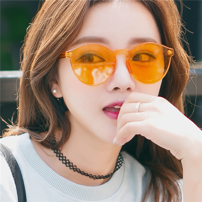 [해외]Candy Color Sunglasses Women Retro Vintage Sunglass/Candy Color Sunglasses Women Retro Vintage Sunglass