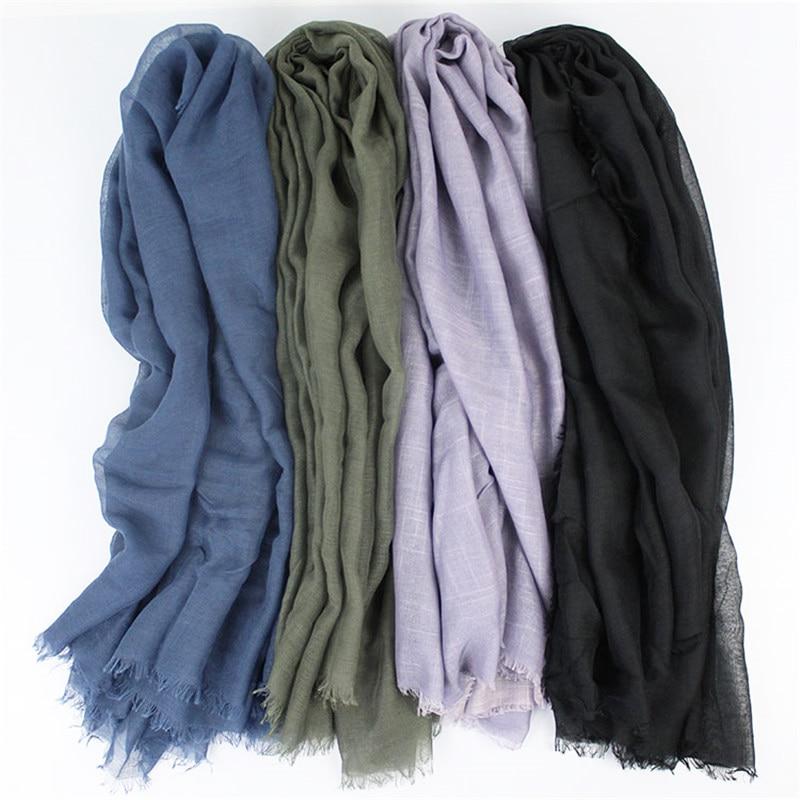 [해외]110*110cm Muslim Headscarf Summer Thin Hijab Turban Bandana Women Square Scarf foulard femme musulman Islamic Arab Head Wrap/110*110cm M