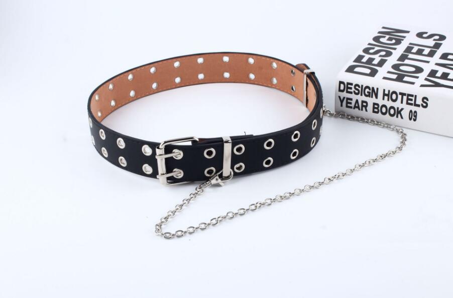 [해외]Fashion Punk Hip-hop leather Belts Waist Chain Women Clothing Accessories/Fashion Punk Hip-hop leather Belts Waist Chain Women Clothing Accessorie