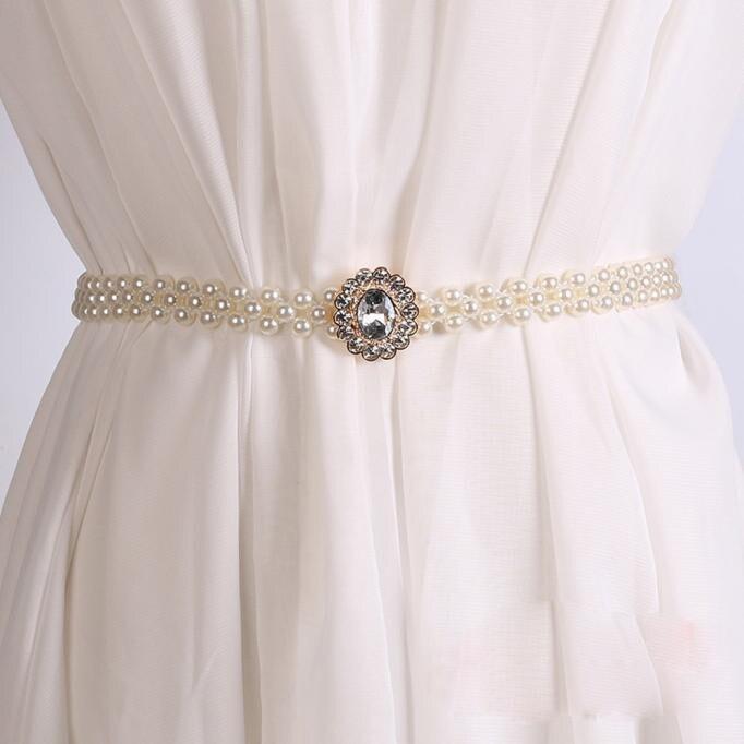 [해외] 2019 NEW Hot Selling Women`s Lady Fashion Metal Chain Pearl Style Belt Body Chain drop shipping 3.6/ 2019 NEW Hot Selling Women`s Lady Fashion Me