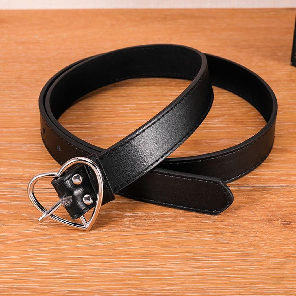 [해외]Women Belt Buckle Heart Waist Belt Love-Shape Belt paski damskie cinturon mujer gurtel cinturones para mujer cinturon mujer riem/Women B