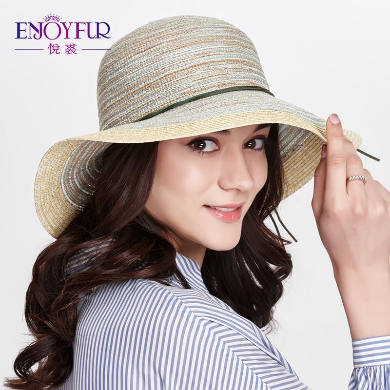 [해외]ENJOYFUR 여름 모자 여성용 Starw 비치 모자 대형 와이드 브림 썬 햇 썬 스크린 썬 모자 여자 용/ENJOYFUR Summer Hats For Women Starw Beach Cap Large Wide Brim Sun Hat Sunscreen Sun