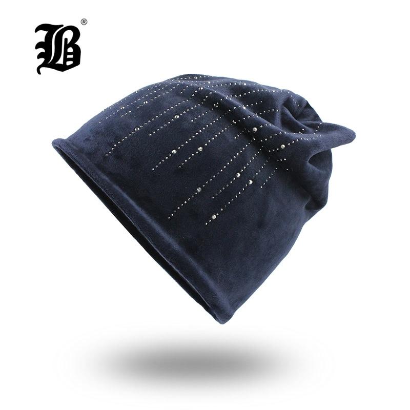 [해외][FLB] 여성을겨울 모자 플란넬 귀여운 패션 가을 겨울 2018 Brand New Girl Ladies Hat 여성 Skullies Bonnet FemmeF18052/[FLB] Winter Hats For Women Flannel Cute Fashion Aut