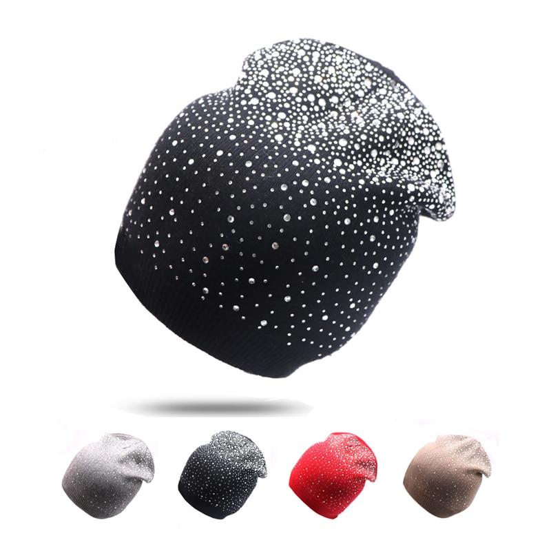 [해외]여성용 겨울 모자 Beanies 힙합 모자 모자 슬랫 모자 UniTurban 모자 솔리드 컬러 모자 모자 숙녀 따뜻한 Skullies 모자/Winter Hats for Women Beanies Hip Hop Caps Slouch Warm Hat UniTurban