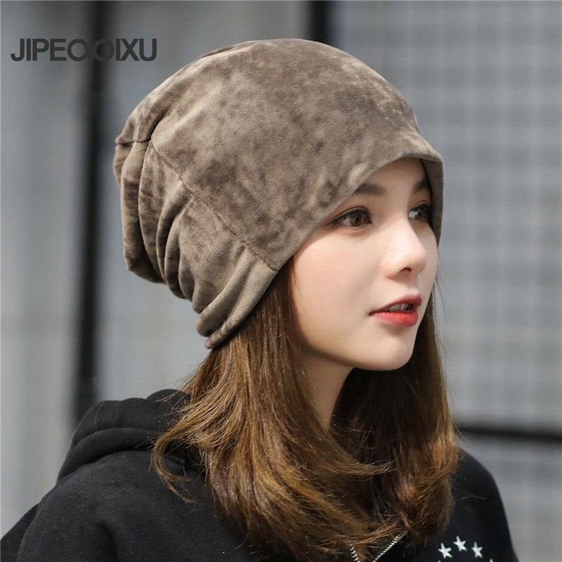 [해외]패션 여성 솔리드 컬러 벨벳 모자 숙녀 가을과 겨울 문을 따뜻한 귀마개 모자 스컬 아웃/Fashion Women  Solid Color Velvet Hats  Ladies  Autumn and Winter Out Door Warm Earmuffs Caps Sku