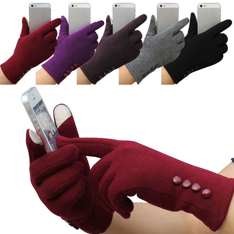 [해외]/Winter Brand Fashion Women Ski Gloves Screen Touch Gloves Riding Themal Snow Camping Leisure Mittens gants femme 5 Colors