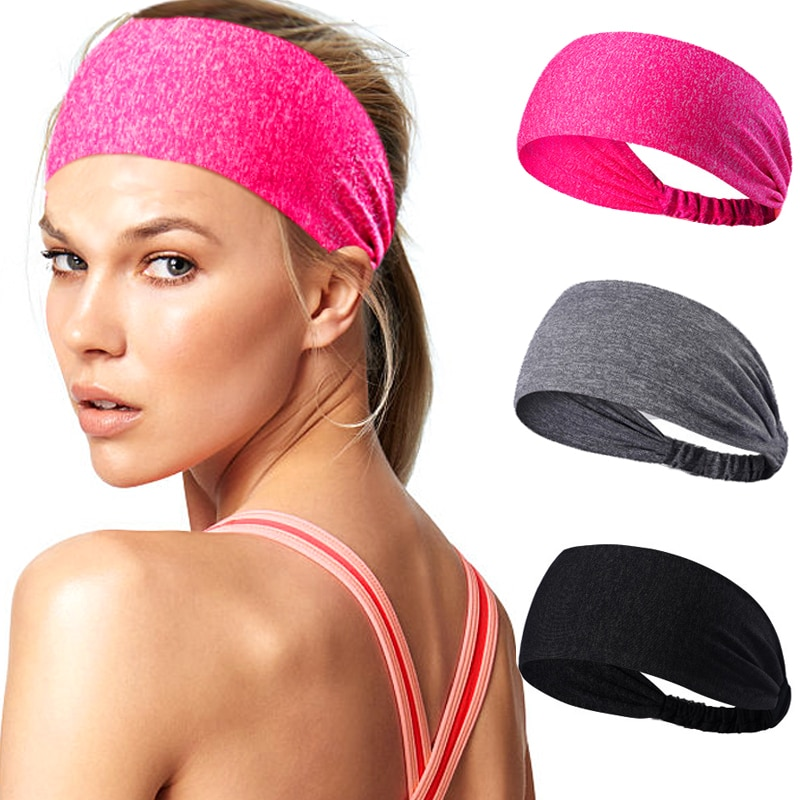 [해외]여자의 요가 헤어 밴드 스포츠 머리띠 여자 남자 면화 매듭이 된 터번 머리 머리 밴드 와이드 탄성 요가 스포츠 머리띠/Women`s Yoga Hair Band sports Headband Women men Cotton Knotted Turban Head Hair