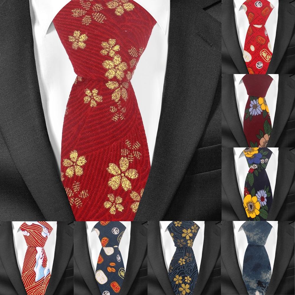 [해외]남자를위한 꽃 넥타이 인과 정장 코튼 넥타이 7cm 너비 gravata 패션 남성 인쇄 나비 넥타이 웨딩 corbata 넥타이/남자를위한 꽃 넥타이 인과 정장 코튼 넥타이 7cm 너비 gravata 패션 남성 인쇄 나비 넥타이 웨딩 corbat