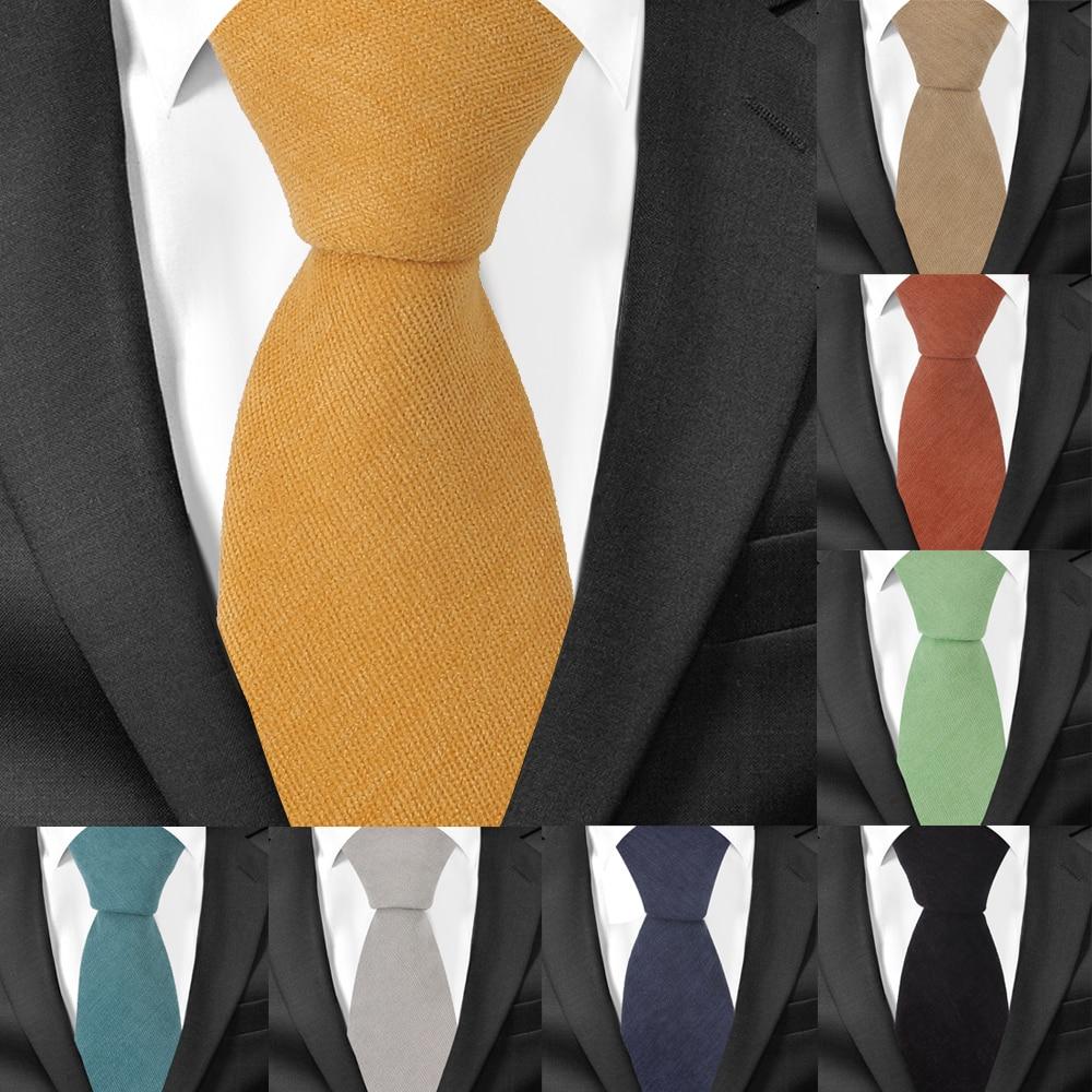 [해외]남자 목화 넥타이 캐주얼 정장 스키니 넥타이 gravatas 솔리드 그린 망 넥타이 비즈니스 7 cm 너비 웨딩 남자 넥타이/남자 목화 넥타이 캐주얼 정장 스키니 넥타이 gravatas 솔리드 그린 망 넥타이 비즈니스 7 cm 너비 웨딩 남자