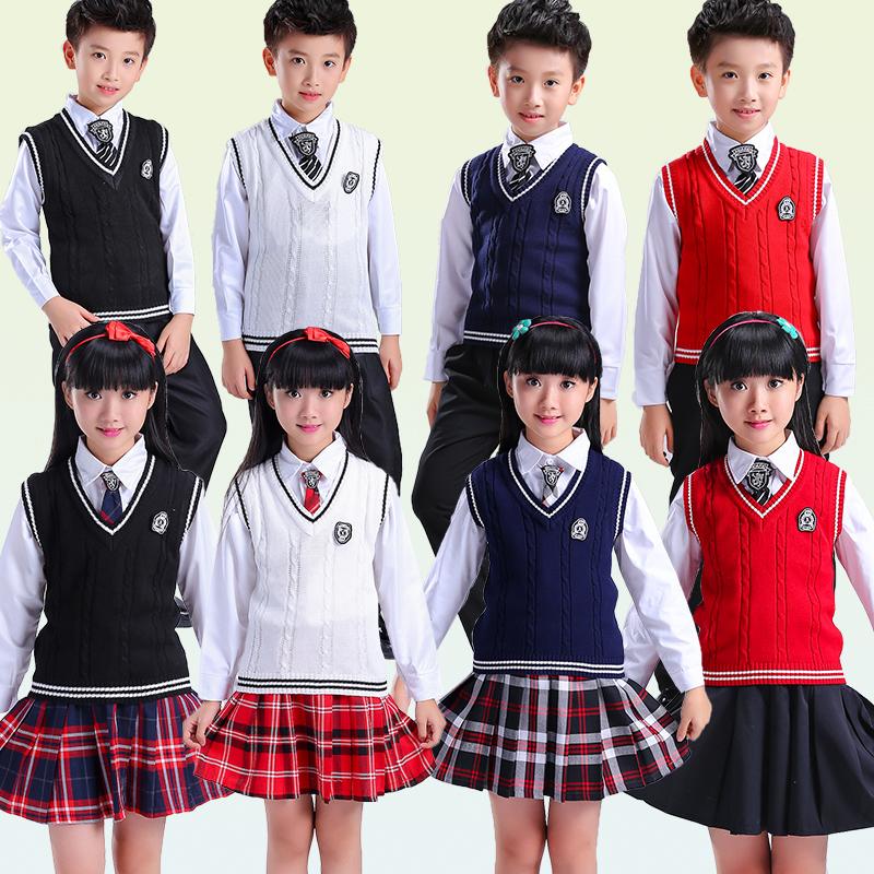 [해외]일본의 학교 유니폼 민Retail 스웨터 조끼 V 넥 일본어 고교 교복 스웨터 정장/Japanese school uniform  Sleeveless sweater Vest uniforms V-neck Japanese High school uniform sweat