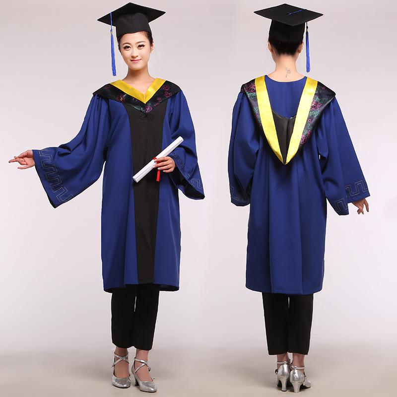 [해외]UniAcademic 복장 학사 의류 대학 농업 과학 기술 졸업 모자 남성 대학원 제복 89/UniAcademic Dress Bachelor Clothing university Agricultural Science Technology Graduation Gown