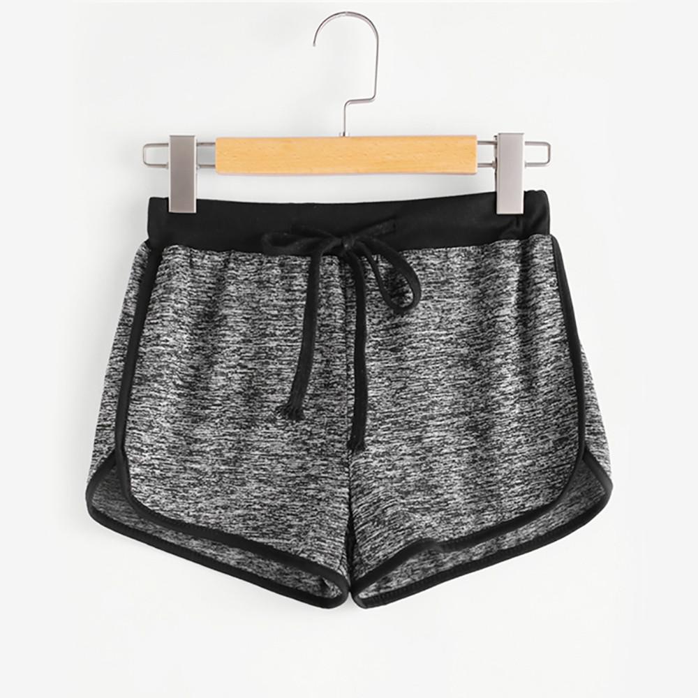 [해외]Womail Women short summer Striped Mid Waist Loose Shorts Drawstring Waist Ringer Shorts Solid Casual Lady 2019  dropship j16/Womail Women short su