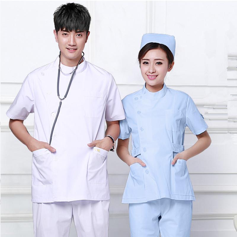 [해외](3 10 % 할인) 병원 건강 서비스 간호사 작업복 유니폼 뷰티 살롱 서비스 간호사 작업 짧은 Retail 의류 / 정장/(3 get 10% off) Hospital healthy service nurse work clothes uniform beauty sa