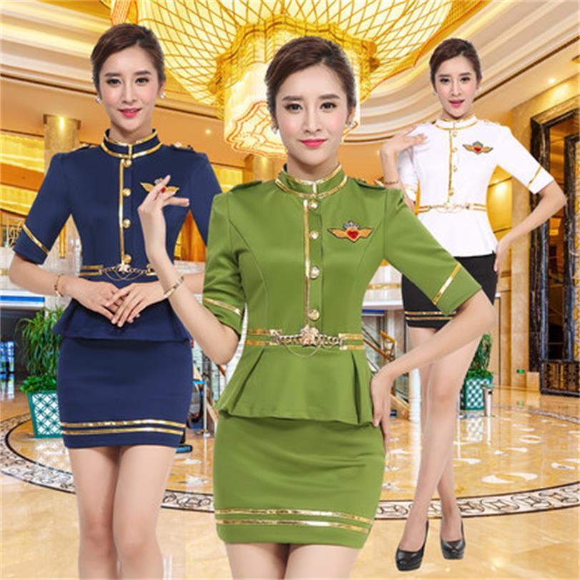 [해외]새로운 호텔 클럽, 발 욕조 기술자 긴팔 나이트 클럽 KTV 공주 승무원 가을과 겨울 옷/New hotel club, foot bath technician long sleeves nightclub KTV princess flight attendants autum