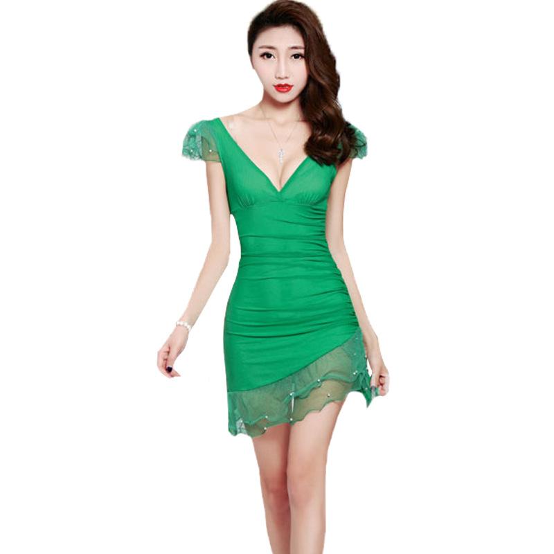 [해외]섹시한 패키지 엉덩이 드레스 스커트 야간 필드 양 KTV 공주 옷 발 사우나 기술자 의류 newdo622/Sexy package hip dress skirt night field Ms. KTV princess clothes Foot sauna technician