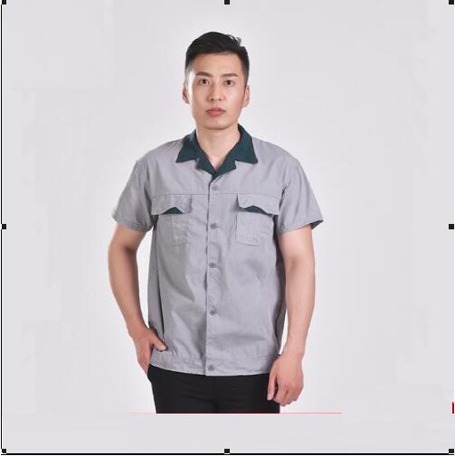 [해외]남성 청소 유니폼 여름 워크샵 하인 짧은 Retail 수의사를수의학 용품/Men Cleaning uniform Summer Workshop servant Short sleeves Clothing for feeding Veterinary