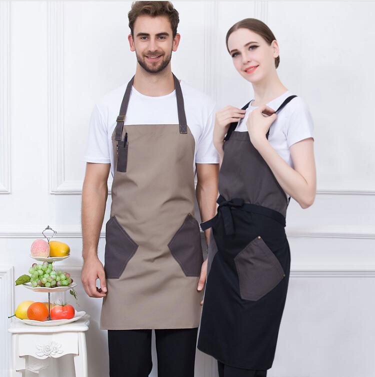 [해외]미용사 및 제복 에이프런 데님/Hairdresser&s uniform Apron Denim