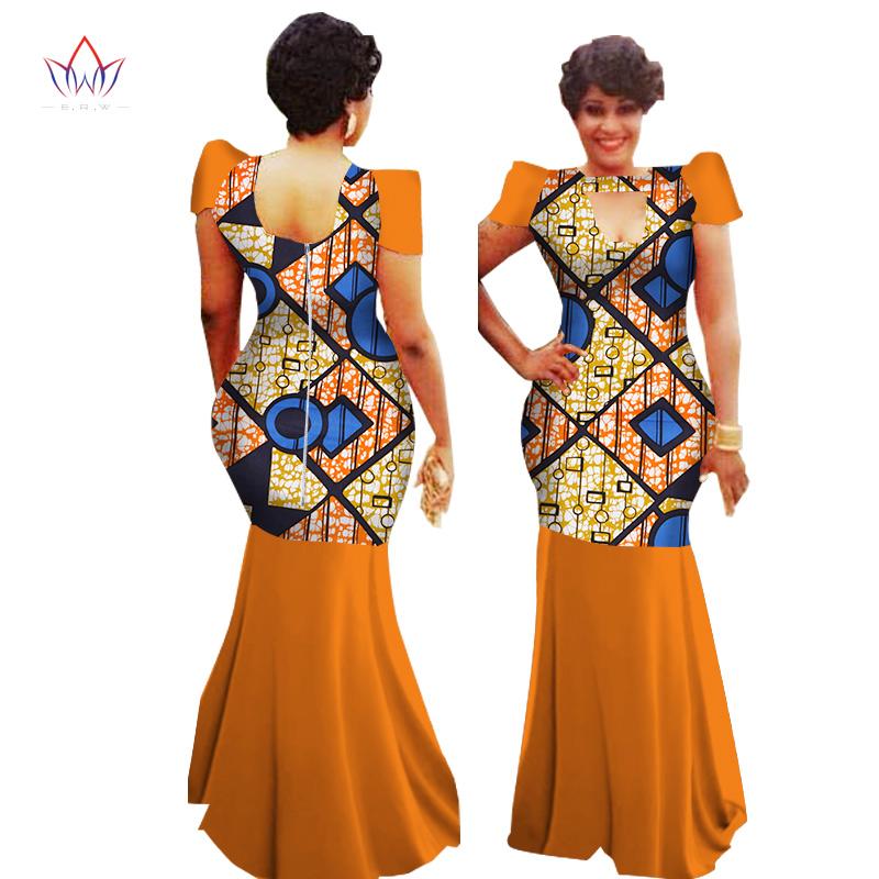 [해외]2017 여름 여성용 핫 아프리카 드레스 패션 디자인 대시 bazin riche 긴 웨딩 드레스 플러스 크기 일반 6xl WY1156/2017 summer Hot african dresses for women Fashion Design dashiki bazin