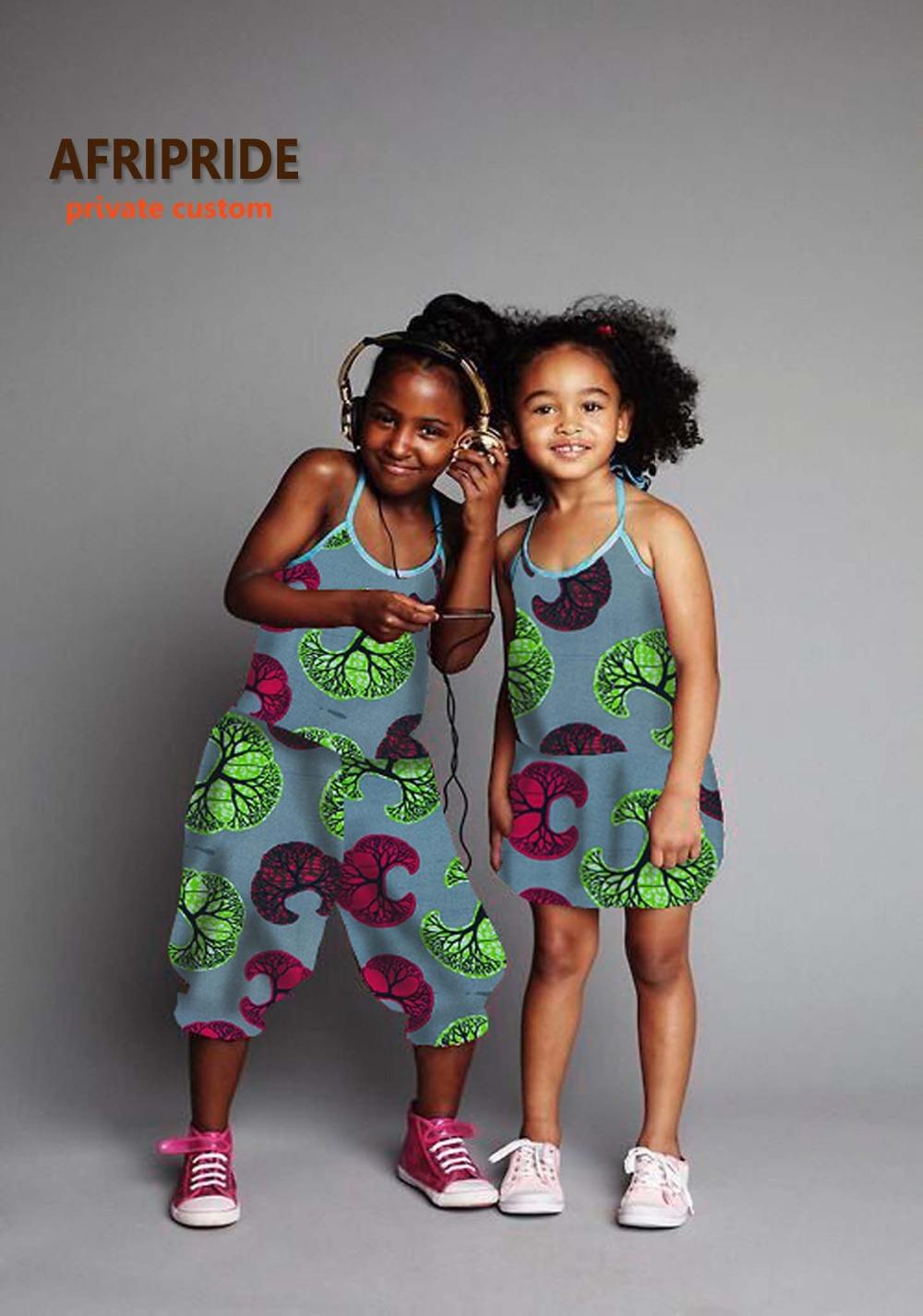 [해외]2017cute twinset african dress for women 어린이 의류 인쇄 면화 왁스 플러스 sizeA724601/2017cute twinset african dress for women african clothing for kids childr