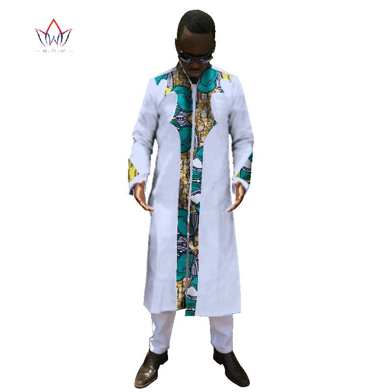 [해외]Mens Ankara Fashion 아프리카 의류 긴팔 셔츠 남자 대시 키 아프리카 프린트 코튼 탑 & 롱 대시 키 팬츠 6XL WYN247/Mens Ankara Fashions African Clothing Long Sleeve Shirt Men Das