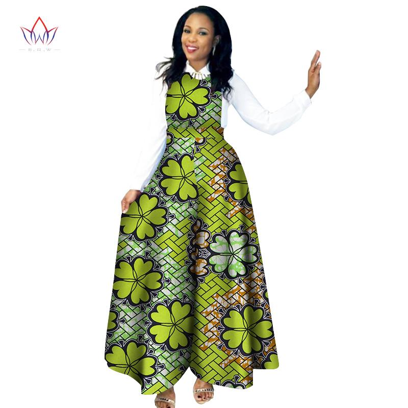 [해외]아프리카 꽃 무늬 두 ??벌 흰 긴 Retail 셔츠와 바지 2017 전통적인 대시 겉옷 BRW WY2058/African Floral Print Suit 2 Pieces White Long Sleeve Shirt and Pants 2017 Traditional