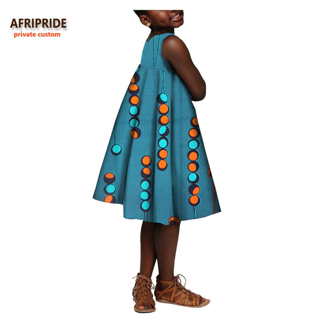 [해외]2017 여자에 대 한가 드레스 AFRIPRIDE 개인 사용자 지정 민Retail 무릎 길이 캐주얼 드레스 100 % 고품질 바 틱 코 튼 A724503/2017 autumn dress for girls AFRIPRIDE private custom sleevel