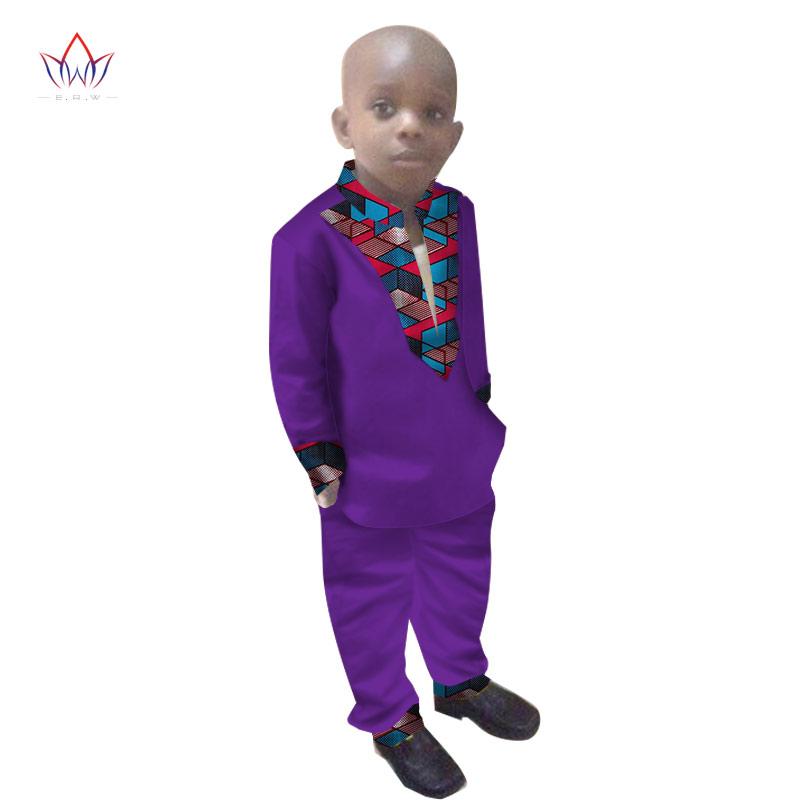 [해외]2017 소년 의류 아프리카 Dashiki 어린이 의류 LongoingSleeves 플러스 솔리드 컬러 긴 바지 어린이 WYT108/2017 Boys Clothes African Dashiki Kids Clothing LongoingSleeves Plus Sol