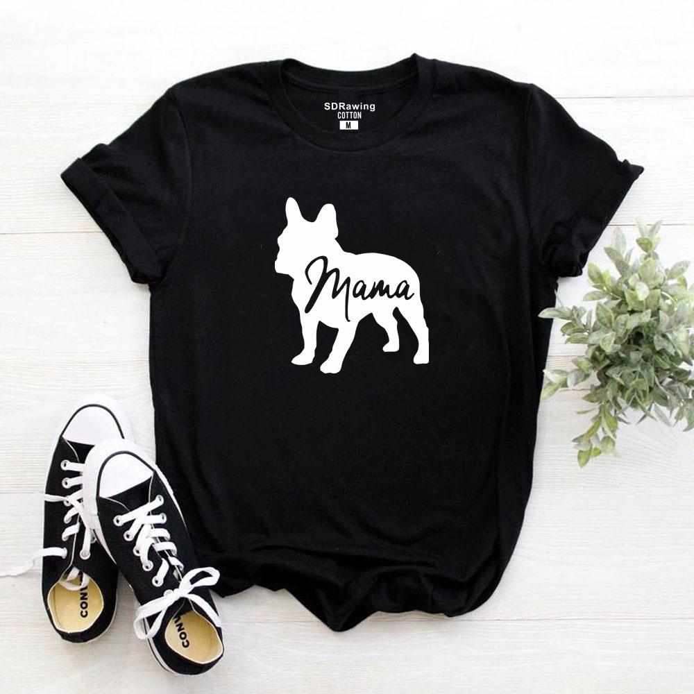 프랑스 불독 의류 개 애인 선물 개 소유자 개 T 셔츠 개 엄마 셔츠 애완 동물 애호가 동물 애호가 엄마 숙녀 티 탑스