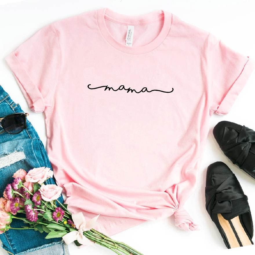 <span style=''>[해외]엄마 편지 인쇄 여성 tshirt 코 튼 캐주얼 재미 t 셔츠 선물 90s 레이디 ..</span>