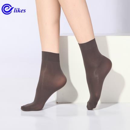 [해외]20 쌍 양말 2017 패션 여성 양말 크리스탈 실크 양말 여름에 여성 Sokken Vrouwen 벨벳 고품질 숙녀 양말/20 Pairs Socks 2017 Fashion Women`s Socks Crystal Silk Socks Women In Summer S